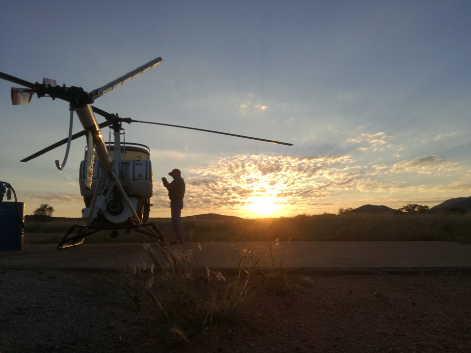 Helicopter_Wildlife Vets Namibia